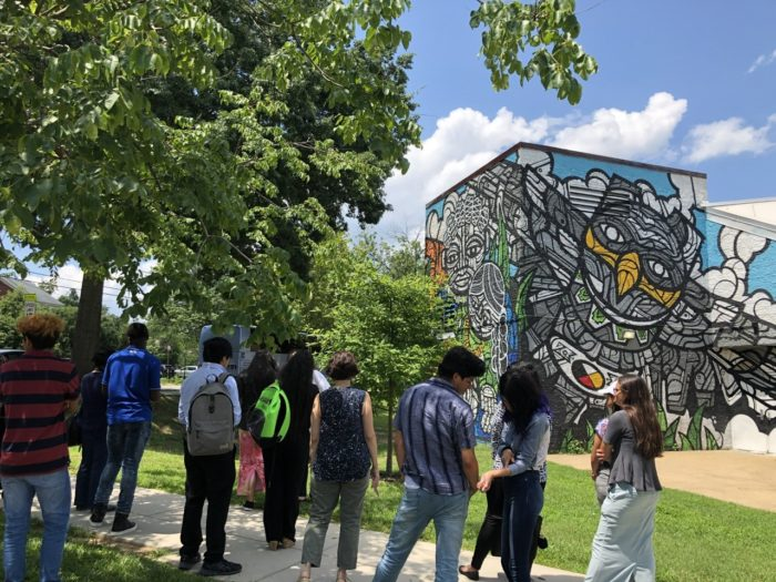 Walking tours highlight shrinking D.C. Latino neighborhoods