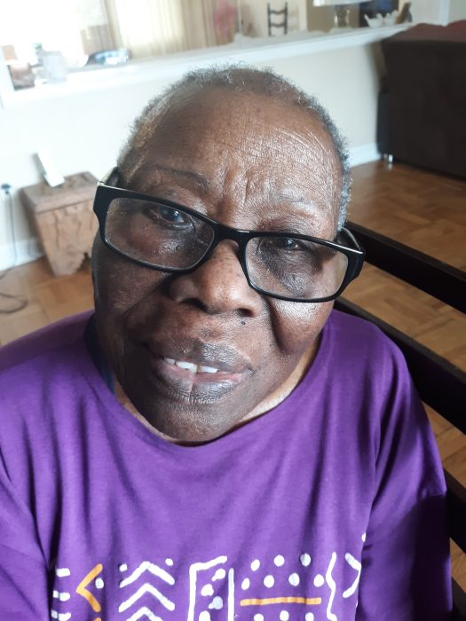 In quarantine with 90-year-old great auntie