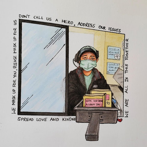 Wearing a face mask: an annoyance and an act of solidarity