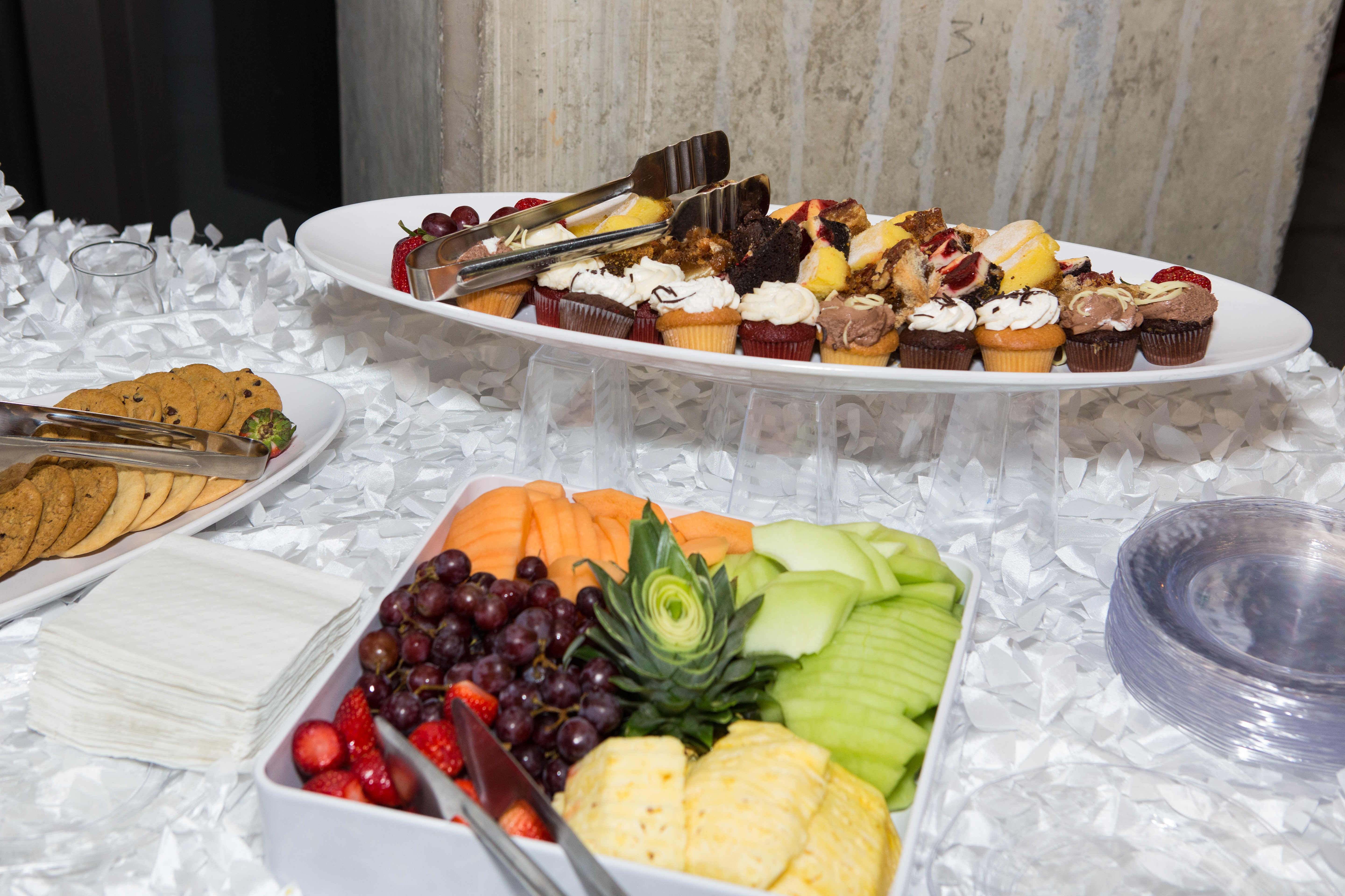 Healthy spread served at kickoff for UHMP2017